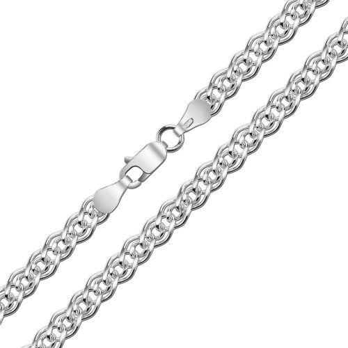 Мужская серебряная цепочка плетения «Нонна»