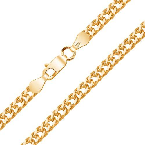Мужская цепочка плетения «Двойной Ромбо» из красного золота