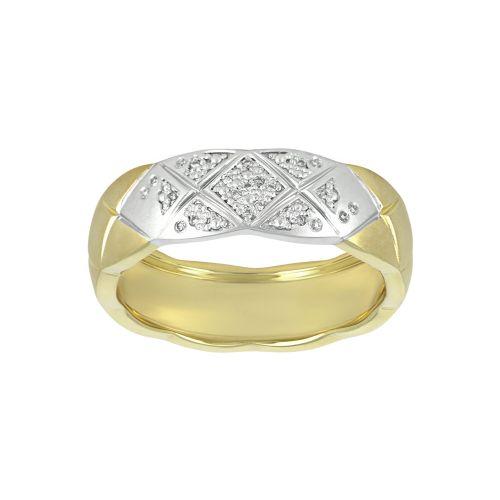 Кольцо в стиле Chanel Crush с бриллиантами