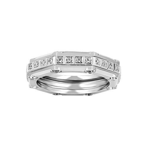 Мужское кольцо из платины