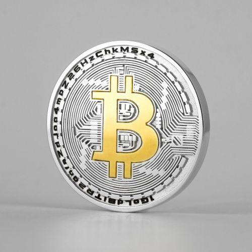 Сувенирная монета «Биткоин»